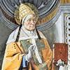 Papież Aleksander I, Pietro Perugino, dekoracja międzyokienna, Kaplica Sykstyńska