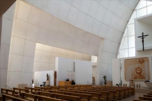 Kościół Dio Padre Misericordioso, Richard Meier