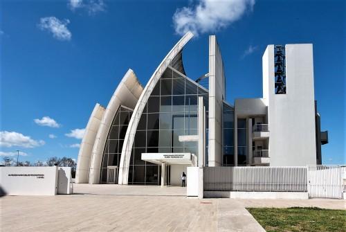 Kościół Dio Padre Misericordioso, Richard Meier, dzielnica Tor Tre Teste