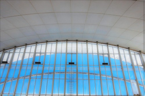 Kościół Dio Padre Misericordioso, Richard Meier, wnętrze
