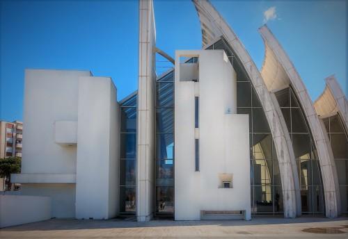 Tor Tre Teste, kościół Dio Padre Misericordioso, Richard Meier