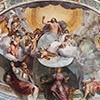 Absyda kościoła Santa Balbina, Chrystus między świętymi, Anastasio Fontebuoni