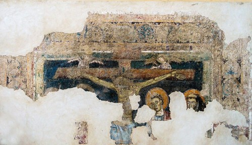 Church of Santa Balbina, one of the medieval frescoes