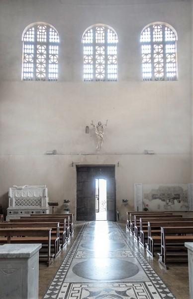Church of Santa Balbina, main enterance