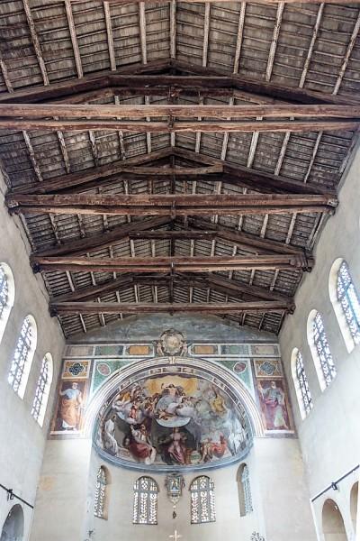 Kościół Santa Balbina, widok absydy