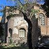Kościół Santa Balbina, bryła zewnęrza i absyda kościoła