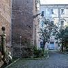 Kościół Santa Balbina, dawne pozostałości klasztoru