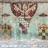 Kościół Santa Balbina, herb papieża Innocentego VIII w przedsionku kościoła