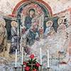 Kościół Santa Balbina, Madonna z Dzieciątkiem między świętymi postaciami (trzecia nisza po lewej)