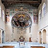 Kościół Santa Balbina, wnętrze