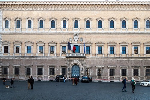 Palazzo Farnese, the palaces belonging to the Farnese family