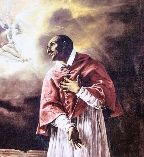 Święty Karol Boromeusz, nepot Piusa IV, kościół San Carlo alle Quattro Fontane