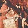 Portret papieża Pawła III z wnukami nepotami, Tycjan, zdj. Wikipedia