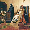 Cadaver synod, Jean Paul Laurens, 1860, pic. Wikipedia