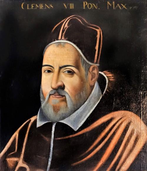 Portrait of Pope Clement VIII, Crisofano dell'Atlissimo, approx. 1600, Palazzo Colonna
