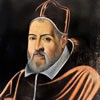 Portret papieża Klemensa VIII, Cristofano dell'Altissimo, ok. 1600 r., Palazzo Colonna