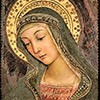 Madonna, fragment fresku, Pinturicchio, ok. 1492-1493 r., kolekcja prywatna