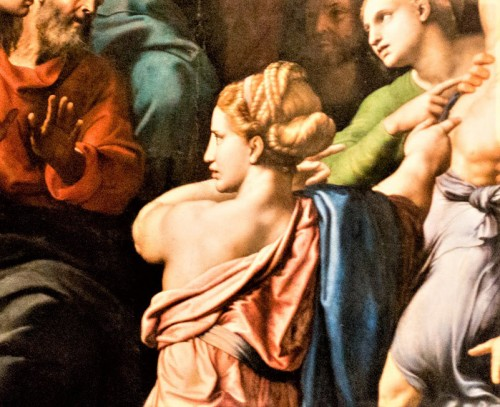 Przemienienie Pańskie, fragment, Rafael, Musei Vaticani