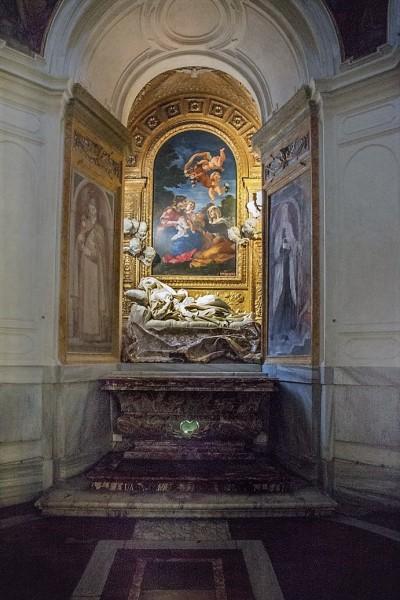 Kaplica Altieri, posąg błogosławionej Ludwiki Albertoni, Gian Lorenzo Bernini, kościół  San Francesco a Ripa