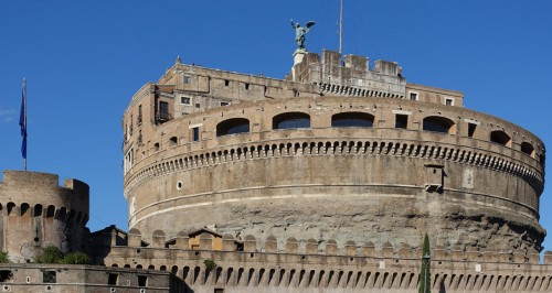 Castle of St. Angel's - the residence of Marozia in Rome