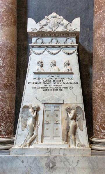 Grobowiec Stuartów, Antonio Canova, bazylika San Pietro in Vaticano