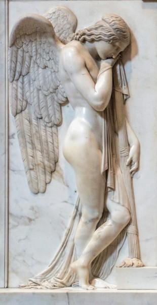 Funerary Monument of the Stuarts, fragment, Antonio Canova, Basilica of San Pietro in Vaticano