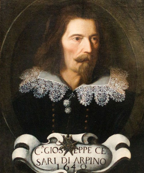 Giuseppe Cesari (Cavalier d'Arpino), Autoportret, Accademia Nazionale di San Luca