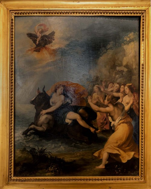 Giuseppe Cesari (Cavalier d'Arpino), Porwanie Europy, ok. 1606, Accademia Nazionale di San Luca