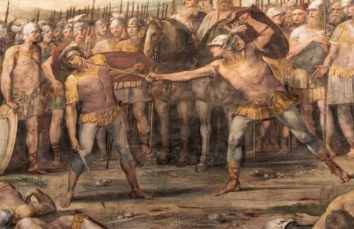 Giuseppe Cesari (Cavalier d'Arpino), Sala degli Orazi e Curiazi, fragment, Musei Capitolini