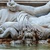 Fontana di Marforio, fragment, Musei Capitolini