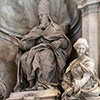 Pomnik nagrobny papieża Leona XI, Alessandro Algardi, bazylika San Pietro in Vaticano