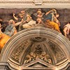 Kościół Santa Maria della Pace, rodowa kaplica Chigich, zwieńczenie - freski Rafaela