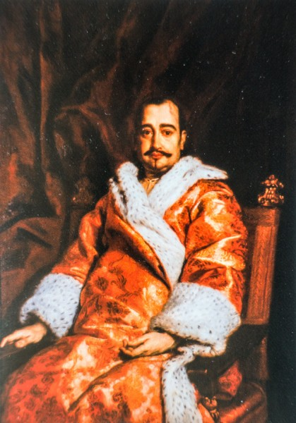 Flavio Chigi w szlafroku, Ferdinand Voet, kolekcja prywatna