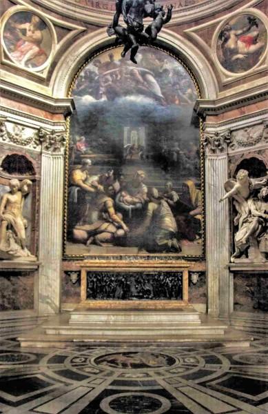 Basilica Santa Maria del Popolo, Chigi Chapel