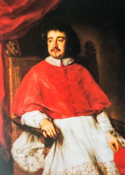 Kardynał Flavio Chigi, Ferdinand Voet, Ariccia, Palazzo Chigi