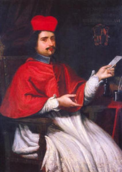 Kardynał Flavio Chigi, Giovanni Maria Morandi, zdj.Wikipedia