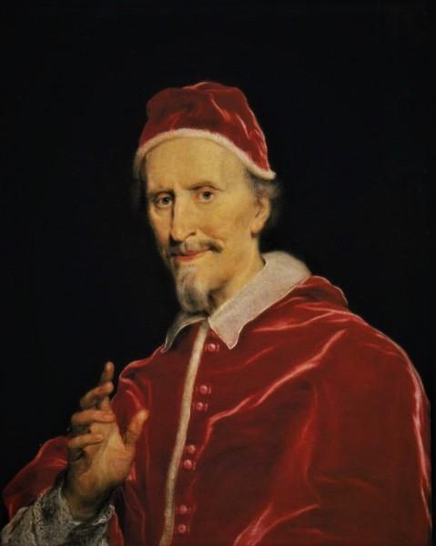 Papież Klemens IX, Baciccio, Palazzo Chigi, Ariccia, zdj. Wikipedia
