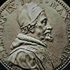 Medal srebrny ukazujący portret papieża Klemensa IX, 1669 r.