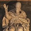 Nagrobek papieża Klemensa IX, fragment, bazylika Santa Maria Maggiore
