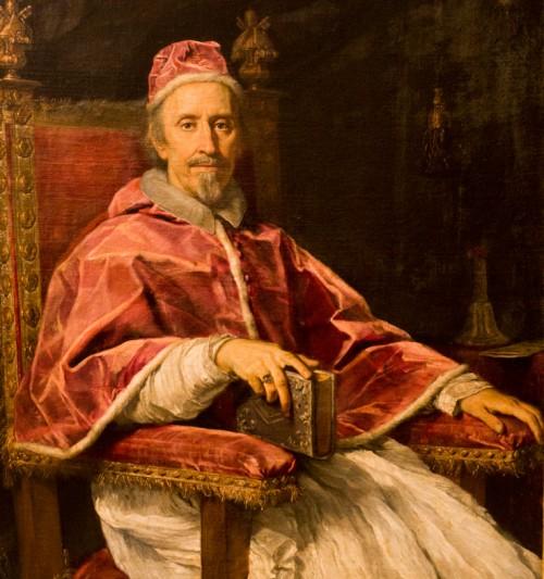 Portret papieża Klemensa IX, Carlo Maratti, Pinacoteca Vaticana - Musei Vaticani