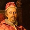 Carlo Maratti, Portret papieża Klemensa IX, fragment Pinacoteka Vaticana - Musei Vaticani