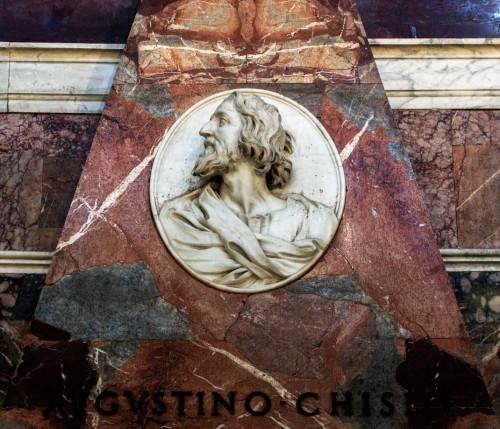 Basilica of Santa Maria del Popolo, Chigi Chapel, posthumous monument to Agostino Chigi (fragment)