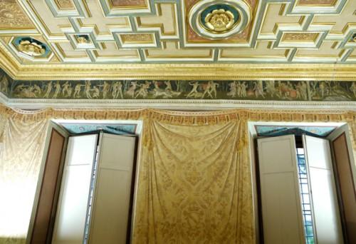 Farnesina, Sala del Fregio, the residence of Agostino Chigi