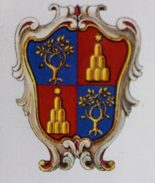 The Chigi della Rovere coat of arms