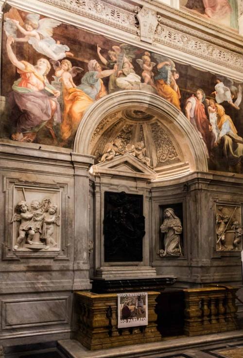 Santa Maria della Pace, Chigi Chapel, foundation of Agostino Chigi