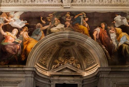 Santa Maria della Pace, Chigi family chapel, top – frescos by Raphael