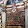 Basilica of Santa Maria del Popolo, Chigi Chapel, posthumous monument to Agostino Chigi (medallion with the image of Agostino)