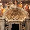 Church of Santa Maria della Pace, Chigi Chapel, painting decorations by Raphael (Raffaello Sanzio)
