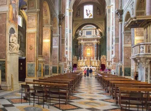 Wnętrze bazyliki Sant'Agostino