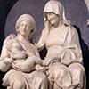 Święta Anna Samotrzeć, Andrea Sansovino, bazylika Sant'Agostino